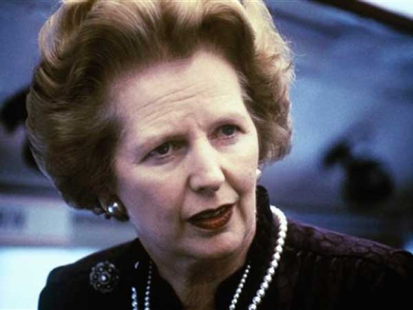 Margaret Thatcher (AP photo)