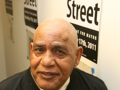 Former state Sen. T. Milton Street says he is running for mayor again, this time in the 2015 Democratic primary election.