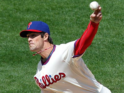Cole Hamels has a 1.23 ERA in 36 2/3 innings pitched at Petco Park in San Diego. (Matt Rourke/AP)