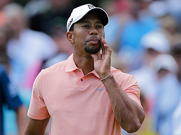 Jack Nicklaus said he still felt that Tiger Woods would break his record of 18 career major championships. (Matt Slocum/AP)