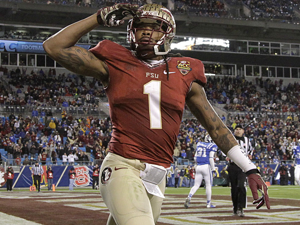 Florida State wide receiver Kelvin Benjamin. (Bob Leverone/AP file photo)