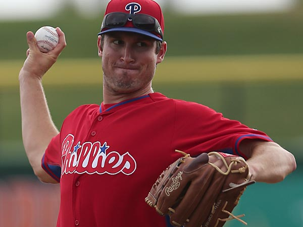 Phillies&acute; pitcher Jonathan Pettibone. (Yong Kim/Staff<br />Photographer)<br />