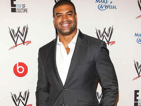 Shawne Merriman. (Photo by Paul A. Hebert/Invision/AP)