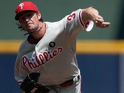 Cole Hamels will start Sunday against the Marlins. (David Goldman/AP)