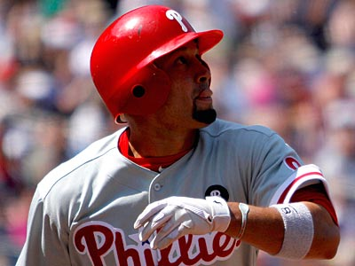 Shane Victorino remains in the leadoff position for the Phillies. (David Goldman/AP)