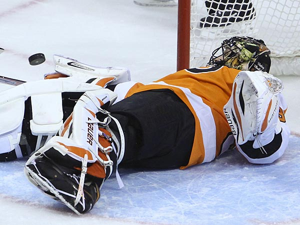 Flyers goalie Ilya Bryzgalov. (Steven M. Falk/Staff Photographer)