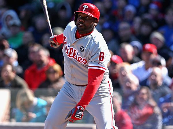 Phillies first baseman Ryan Howard. (Jonathan Daniel/Getty Images)