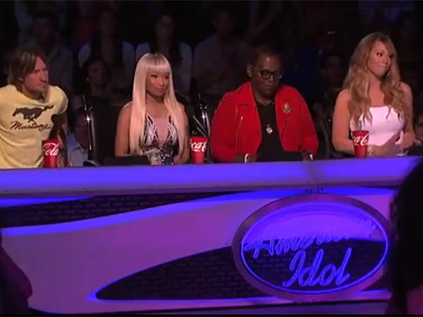 "The judges of FOX´s ""American Idol."""