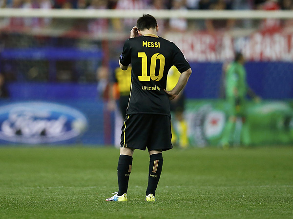 Barcelona star Lionel Messi. (Juan Medina/Reuters)