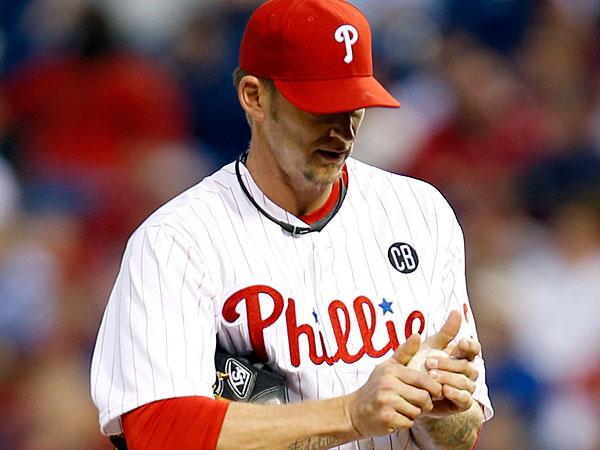 Phillies pitcher A.J. Burnett. (Yong Kim/Staff Photographer)