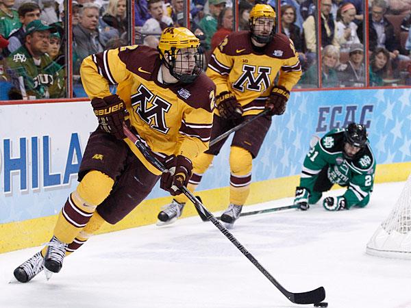 NCAA: In Final, Minnesota's Offense Vs. Union's Defense