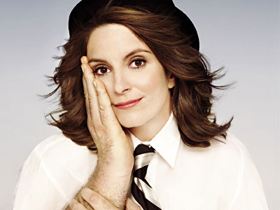 "Tina Fey on the cover of her book, ""Bossypants."" (Little, Brown / Hachette Book Group)"