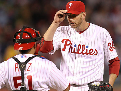 Roy Halladay will take the mound in San Francisco tonight as the Phillies begin a 10-game road trip. (Steven M. Falk/Staff file photo)