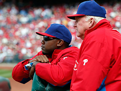 Ryan Howard has yet to hit or run since having surgery on February 27. (David Maialetti/Staff file photo)