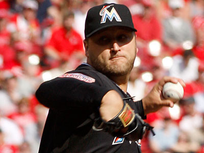 Mark Buehrle signed a four-year, $58 million contract with the Marlins this offseason. (David Kohl/AP Photo)