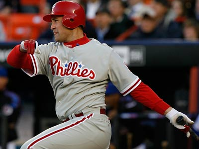 Pat Burrell will officially retire in May as a member of the Phillies. (AP Photo/Kathy Willens)