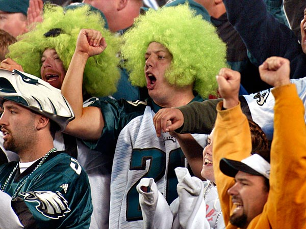 Prices for single-game Eagles tickets this season range from $75 to $105, plus fees, with a limit of four seats per game. (George Widman/AP file photo)