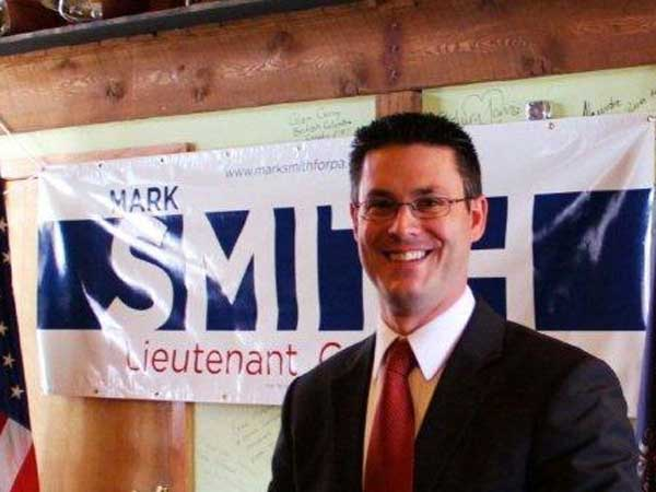 Bradford County Commissioner Mark Smith is running to become Pennsylvania´s lieutenant governor. (Photo: bradfordcountydems.com)