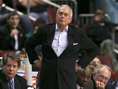 Larry Brown refuted a report that he´s going to return to the Sixers. (Yong Kim / Staff Photographer)