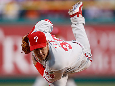 Southpaw Cliff Lee will get the start for the Phillies on Friday against the Mets. (AP photo)