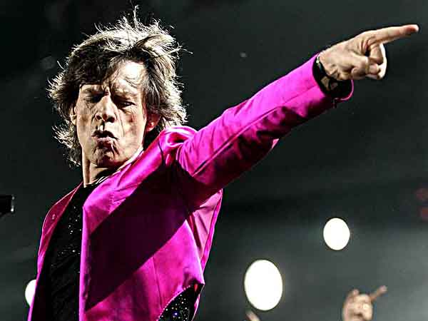 Mick Jagger and the Rolling Stones in Canada. (Photo: Paul Chiasson / AP)