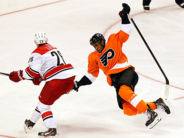 The Flyers´ Wayne Simmonds. (Ron Cortes/Staff Photographer)