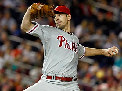 Cliff Lee struck out 12 hitters on his way to a complete game shutout on Thursday. (Alex Brandon/AP Photo)