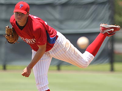 Jesse Biddle was the Phillies´ first-round pick in the 2010 MLB draft. (Photo credit: Scott Purks)