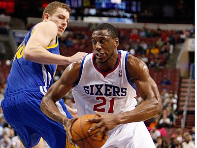 """Rod Thorn said that Thaddeus Young is a """"key guy for us. We need him."""" (David Maialetti/Staff File Photo)"""