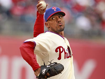 Bastardo represents the most curious case on the Phillies pitching staff after a month of baseball. (Ron Cortes/Staff Photographer)