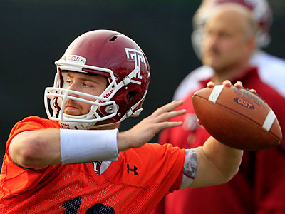 Temple returns just eight starters from last season´s 9-4 team. (Ron Cortes/Staff Photographer)