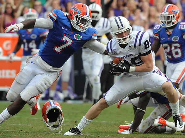 Former University of Florida defensive end/outside linebacker Ronald Powell. (AP Photo/ Phil Sandlin, File)