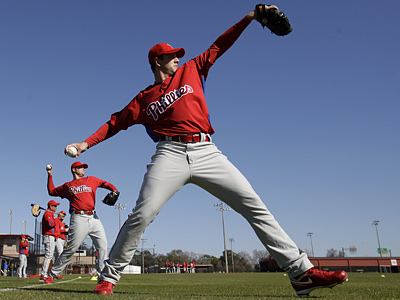 Phillies minor league pitcher Scott Mathieson has 17 saves for the IronPigs this season. (AP File Photo)