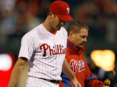 Roy Oswalt was placed on the disabled list with lower back inflamation. (Yong Kim/Staff Photographer)