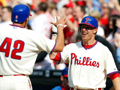 Pete Orr could have taken the mound for the Phillies if Wednesday´s game with the Braves had made it to the 12th inning. (David Maialetti  / Staff File Photo)