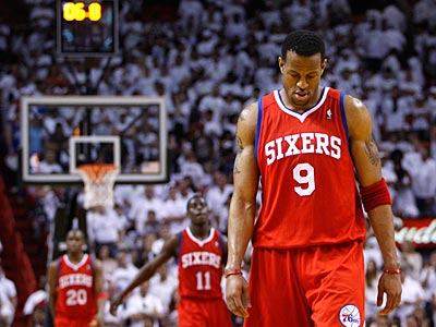The Sixers fell to the Heat in Game 1 of their Eastern Conference playoff series. (Ron Cortes/Staff Photographer)