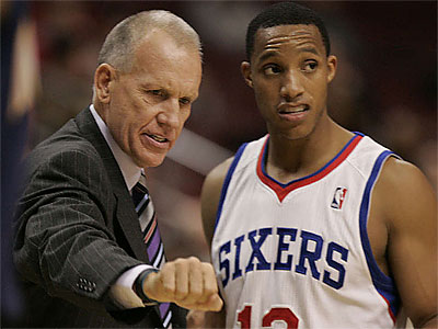 Evan Turner´s role in Doug Collins´ system has been a topic of much conversation for 76ers fans. (Michael Bryant/Staff file photo)