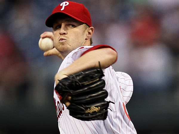 Phillies starting pitcher Kyle Kendrick. (Tom Mihalek/AP)