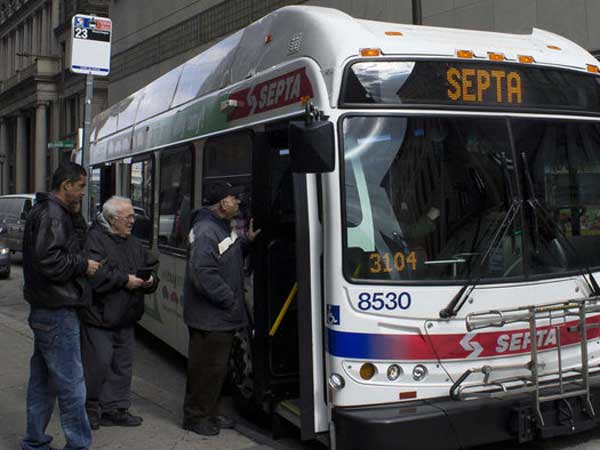 Thanks to SEPTA´s balanced budgets, the agency has been able to secure government funding, including $232 million to add 440 new hybrid buses to its fleet. (Courtney Marabella / Staff Photographer)