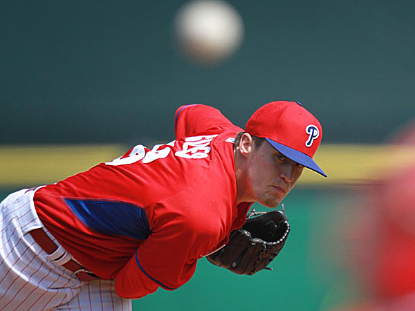 Phillies' Giles striking, but not ready for prime time