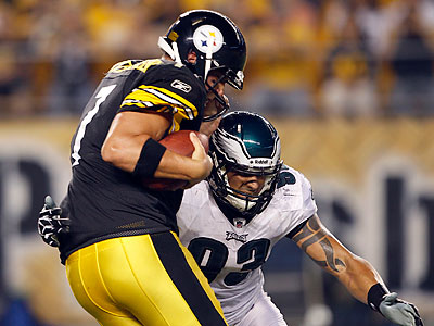 The Eagles will visit Ben Roethlisberger and the Pittsburgh Steelers on Sunday, October 7. (Yong Kim/Staff file photo)