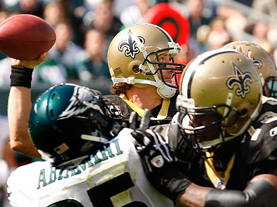 The Eagles will face the Saints in New Orleans in a Monday night showdown on November 5. (Ron Cortes/Staff file photo)
