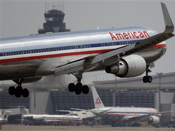 An American Airlines plane (AP photo)
