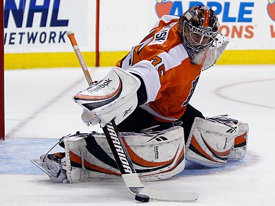 Should Sergei Bobrovsky start in goal for the Flyers next year? (Yong Kim/Staff Photographer)