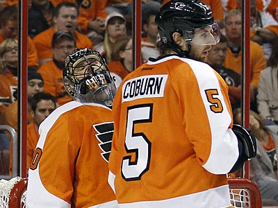 The Flyers allowed 10 goals against the Penguins in Game 4 on Wednesday. (Yong Kim/Staff Photographer)