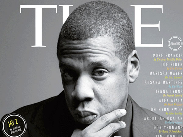 "Jay-Z on the cover of TIME´s ""100 Most Influential People"" list. (Courtesy photo)"