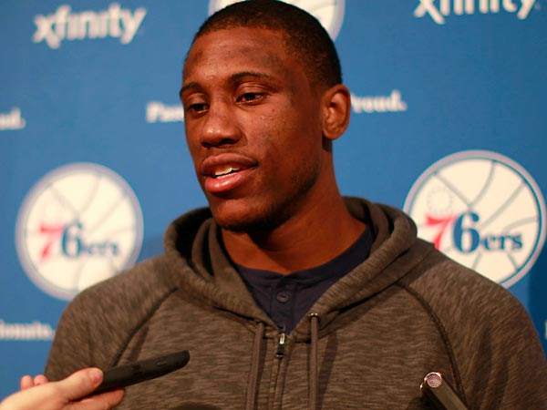 Sixers forward Thaddeus Young. (David Swanson/Staff Photographer)