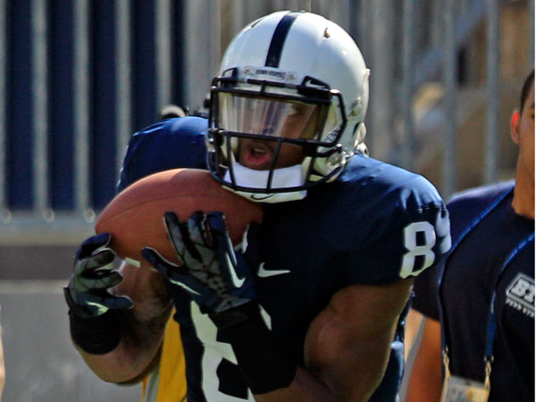 Penn State receiver Allen Robinsonis one of the key returners for the team. (Gene J. Puskar/AP file)