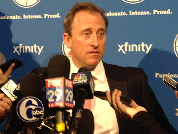 76ers owner Joshua Harris. (David Swanson/Staff Photographer)