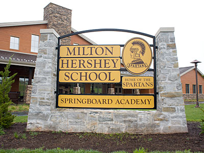 High in concept but thin on outcomes, Springboard Academy was conceived to reduce attrition at the Milton Hershey School. (ED HILLE / Staff Photographer)